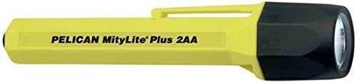 Mitylite 2340 Flashlight, 2 Aa, Yellow (Lamp Flashlight Aa 4 Xenon)
