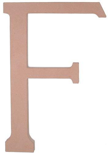 23.5 Inch Paper Mache Letter - Paper Mache Letter - F - 23.5 inches