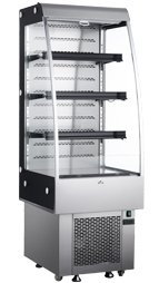 Omcan 25825 RS-CN-0250 8.8cf Open Commercial Refrigeratio...