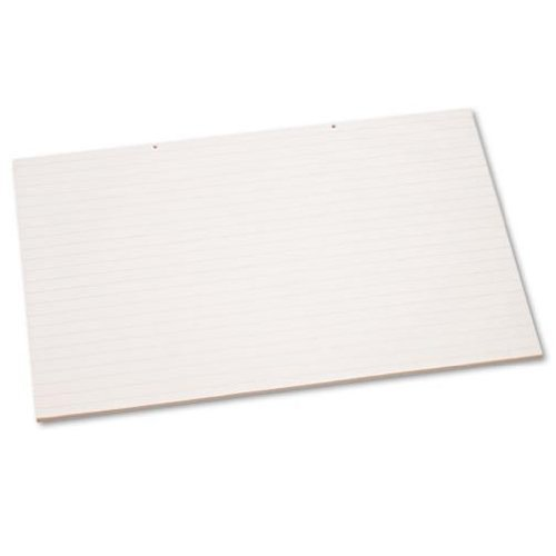 Pacon 3051 Primary chart pad, 2-hole punched, 1 long rule, 36 x 24, 100 sheets per pad by Pacon