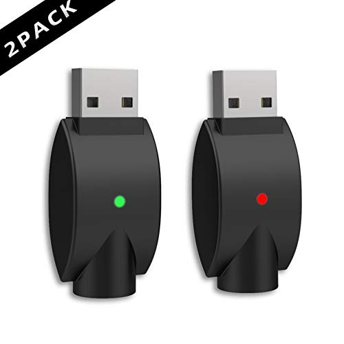 [Upgrade Version] USB Smart Charger with Over-Charge Protection and Over-Voltage Protection- 2 Pack