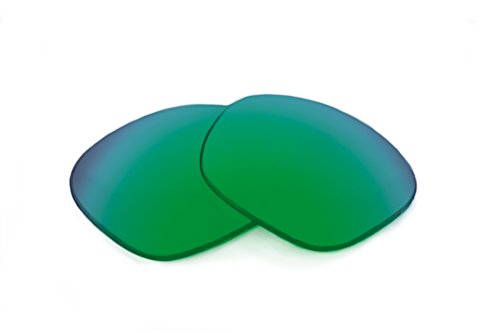 SFx Replacement Sunglass Lenses fits Serengeti Napoli 61mm Wide (Ultimate Grn-Yellow Mirror Green ()