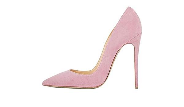 Grapefruit09 Stilettos Zapatos de tacón Alto para Mujer