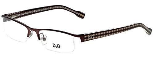 D&g Vichy Dd5095 Eyeglasses 1066 Brown Demo Lens 50 17 135