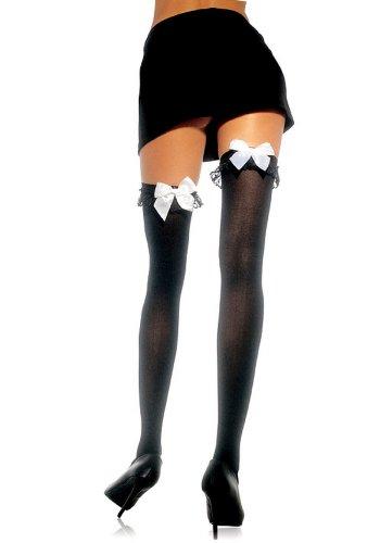 Nylon Satin Stockings - 9