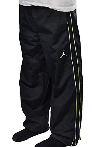 Jordan Big Boys Jumpman Basketball Pants 10-12 YRS , Black//Volt Medium