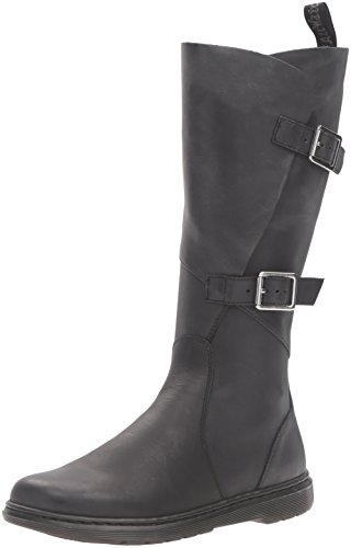 best shoes get new latest discount Dr Martens - Caite Buckle Wrap Knee Boots in Black