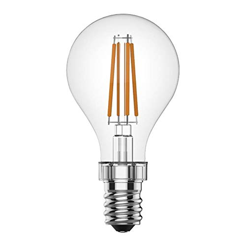 GE Relax 2-Pack 60 W Equivalent Dimmable Soft White A15 LED Light Fixture Light Bulbs Candelabra