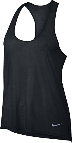 NIKE Womens Breathe Running T Back Tank Top