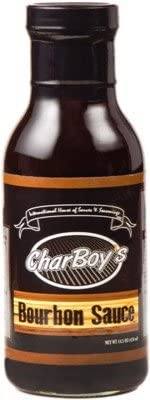 CharBoy's Bourbon Sauce for Grilling, Cooking, Marina