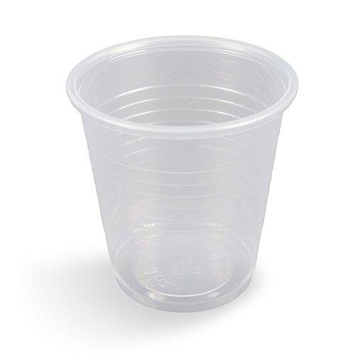 Dynarex Plastic DrinkingCups, 3 oz. - 25/100/Cs