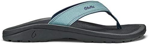 Olukai Ohana Guava Jelly Pink Shave Ice Leather Sandals 6 8 NWT