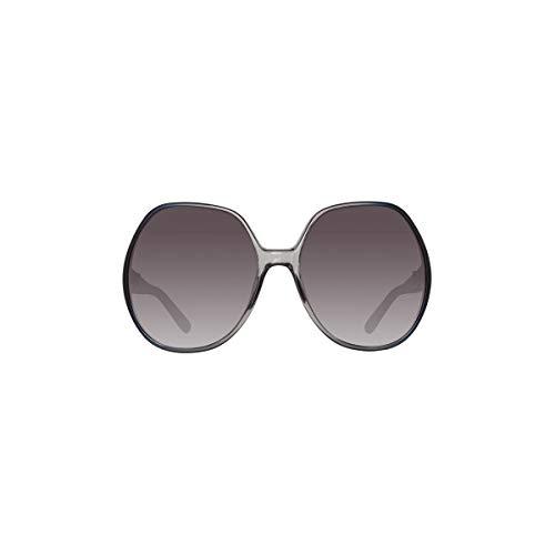 Chloe CE717S 426 Gradient Blue Grey Modified Rectangle Sunglasses