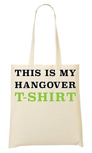 T Questo Divertente Shopping Slogan Shirt Il Mio Mano È Sbornia Collegio Bag OOqwtB