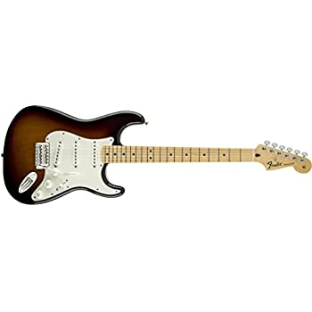 Amazon Com Fender Standard Stratocaster Electric Guitar Maple