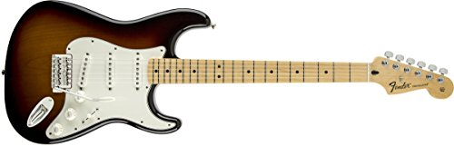 Price comparison product image Fender Standard Stratocaster Electric Guitar - Maple Fingerboard,  Brown Sunburst