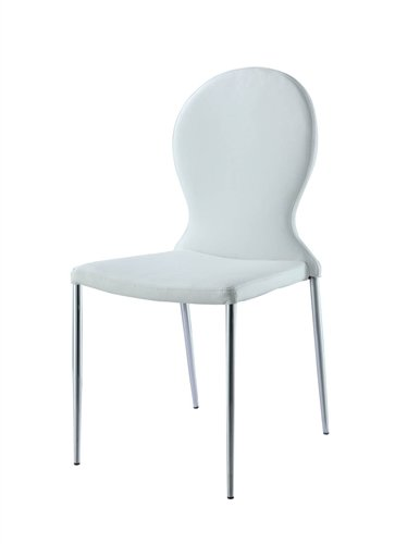 Sophia Dining Chair White/Set of 2