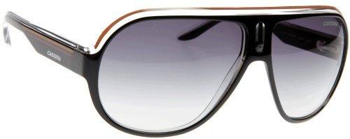 Carrera Sunglasses SPEEDWAY KEE/LF Black/Crystal/Orange Gray Gradient - Sunglasses Carrera Vintage