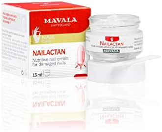Mavala Nail Care Nailactan Nutritive Nail Cream In Jar For Damaged Nails 0.5 Ounce