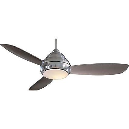 Minka aire f517 bn concept i 52 ceiling fan brushed nickel minka aire f517 bn concept i 52quot ceiling fan brushed aloadofball Images