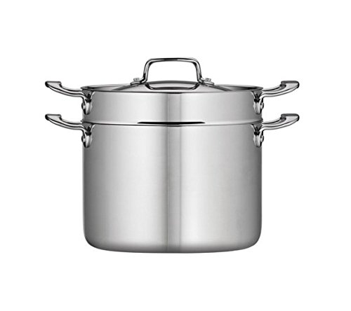 Tramontina 8-Qt Tri-Ply Clad Multi-Cooker, Stainless Steel