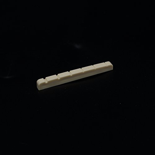 Slotted Nut for Solid body Electric Guitar Flat-Bottom 43mm