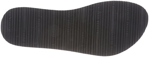 Metallic Hilfiger 990 Star Femme Noir Black Sandal Beach Tongs Tommy 5HFqwaWxF