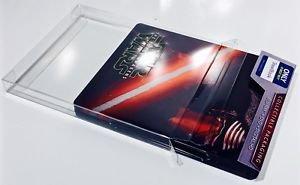 amazon com 25 steelbook box protectors protective sleeves clear