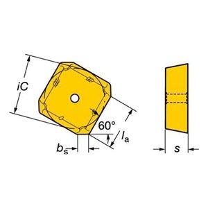 Sandvik Coromant 490r-140412e-mms40t Coromill 490Insert pour fraisage (lot de 10) 69826253952