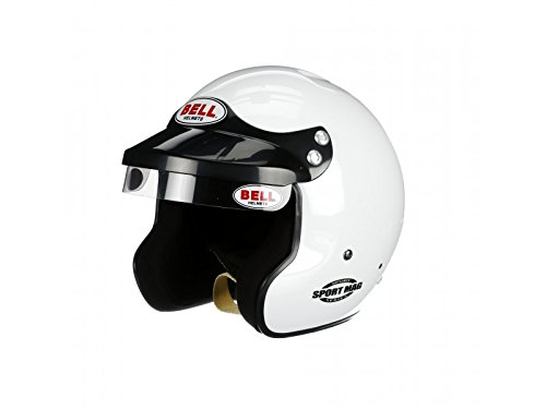 Bell Racing SPORT MAG WHITE LARGE (60) SA2015 V.15 BRUS - Racing Bell