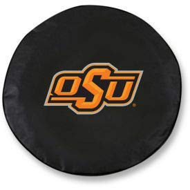 Oklahoma State University Black Tire Cover-TCLGOKSTUNBK (TCLGOKSTUNBK)