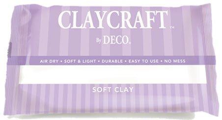 (White - CLAYCRAFT by DECO Soft Clay)