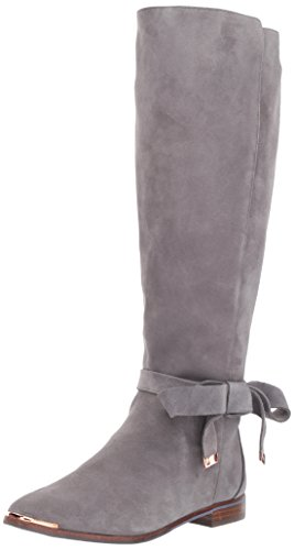 Ted Baker Women's Alrami Knee High Boot, Dark Grey, 7 M US by Ted Baker