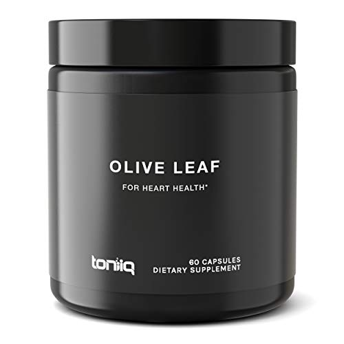 Ultra High Strength Olive Leaf Capsules - 40% Oleuropein - 3X Concentrated Extract - The Strongest Olive Leaf Supplement Available - Immune Support Supplement ()