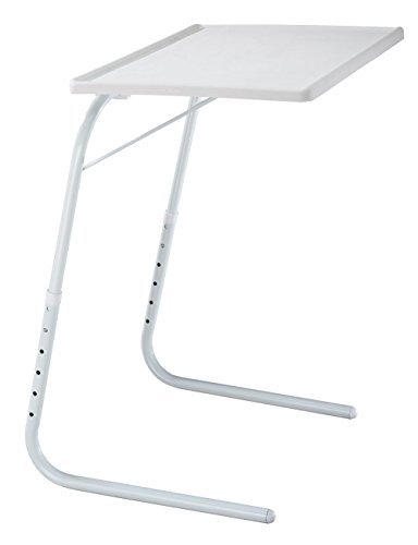 (EasyComforts Adjustable Tray Table - White by EasyComforts)
