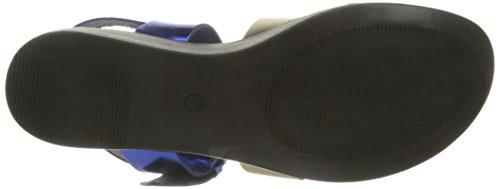 382 Plataforma con Sandalias Mujer 3 Azul Tabriz Stuart Elizabeth para xAYH44