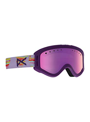 Anon Kids Tracker Goggle, Baloonz Frame Pink Amber ()