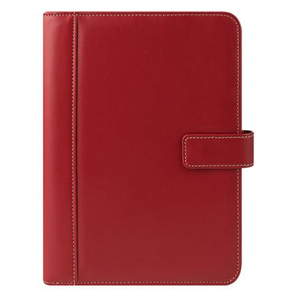 (Classic Slim Simulated Leather Snap Wire-bound Cover -)
