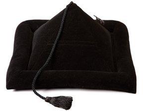 Peeramid Bookrest Pillow All Black