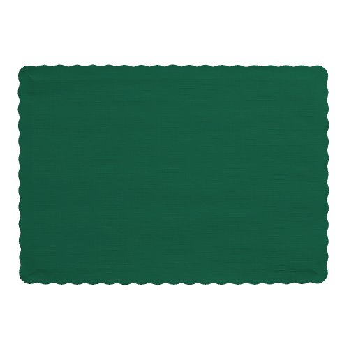 Creative Converting 863124B Paper Scalloped Edges Placemats 10