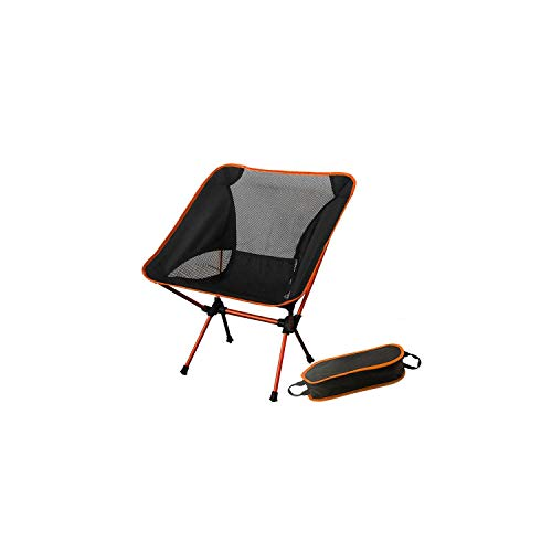 Outdoor Chairsportable Collapsible Moon Chair Fishing Camping BBQ Stool Folding Extended Hiking Seat Garden Ultralight Office Home Furniture,Sf73300Og