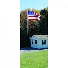 Annin Flagmakers 742350 20 ft. Patriot Model Aluminum Flagpo