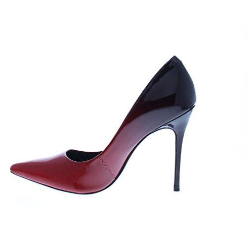 Bronx 36 Rouge Femme Rose Pour Escarpins zzqw6A8F