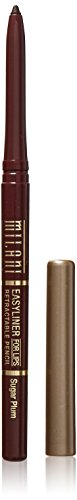 Retractable Lip Liner Pencil (Milani Mechanical Lip Liner Pencil, Sugar Plum, 0.01 Ounce)