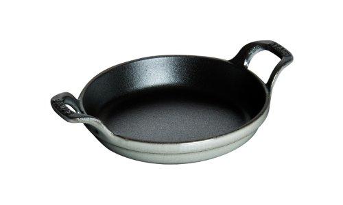 Staub 1302018 Round Roasting Dish, 20 cm, Graphite Grey by Style