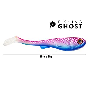 Soft Swimbait 7 inch Pike lure GrumpyOne 55g