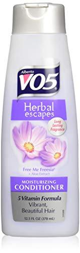 Alberto VO5 Herbal Escapes Free Me Freesia Moisturizing Conditioner for Unisex, 12.5 Ounce (Herbal Vo5 Conditioner Alberto)