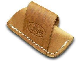 CASE XX Brown Leather Side Draw Pocket Knife Belt Sheath
