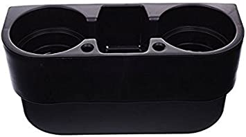 H-Gamely Black Color Auto Car Seat Side Drink Cup Holder Organizer
