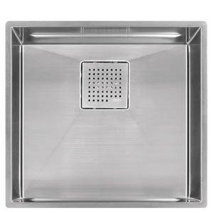 Franke Peak Undermount Stainless Steel 18.875 in. x 17.75 in. Single Bowl Kitchen Sink